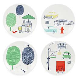 kate spade new york Hopscotch Drive™ Tidbit Plates (Set of 4)