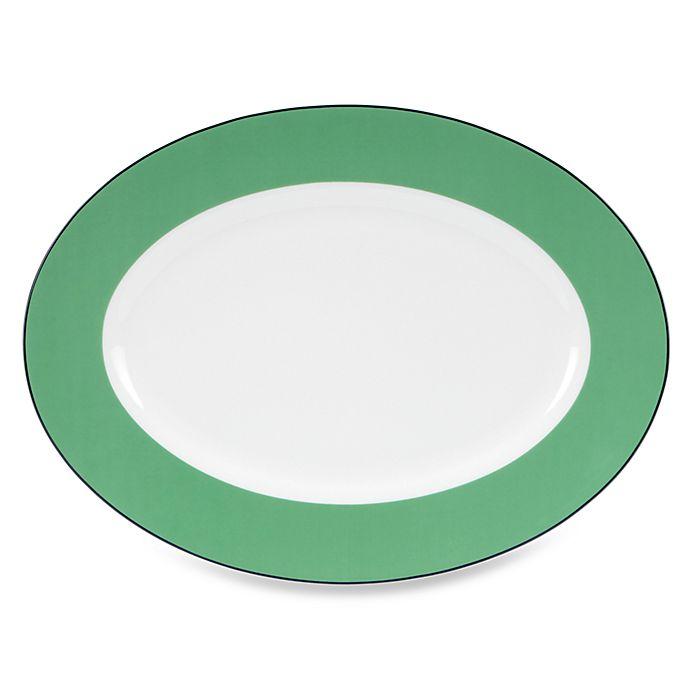 Alternate image 1 for kate spade new york Hopscotch Drive™ Porcelain 16-Inch Platter