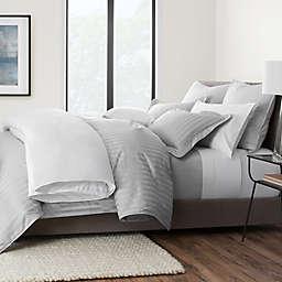 Wamsutta® 500-Thread-Count PimaCott® Damask Stripe Duvet Cover Set