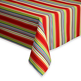 Destination Summer Mystic Stripe Indoor/Outdoor Tablecloth