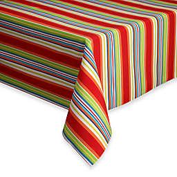 Destination Summer Mystic Stripe Indoor/Outdoor Tablecloth