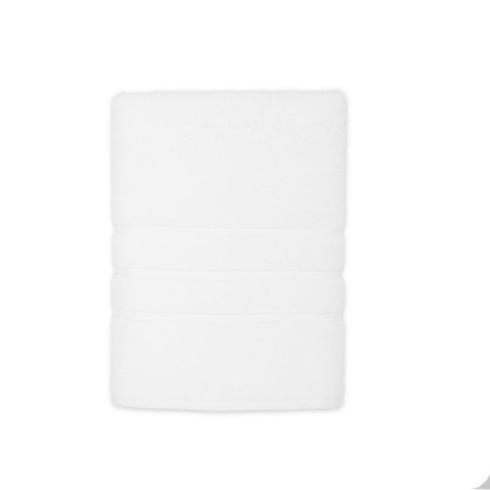 Alternate image 1 for American Craft Made in the USA Bath Towel in White
