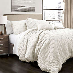 Lush Decor Ravello Pintuck Comforter Set