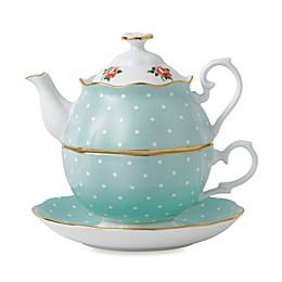 Royal Albert Polka Rose Tea for 1