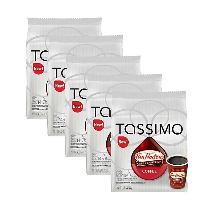 Alternate image 1 for Tim Hortons™ 70-Count Regular Coffee T DISCs for Tassimo™ Beverage System