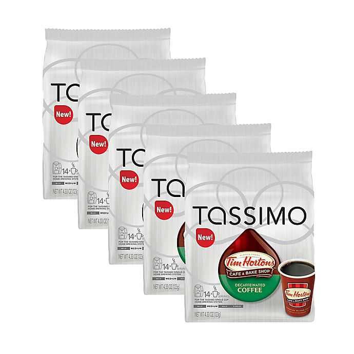 Alternate image 1 for Tim Hortons™ 14-Count Decaffeinated Coffee T DISCS  for Tassimo™ Beverage System