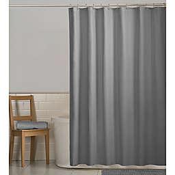 Maytex Fabric Shower Curtain in Grey