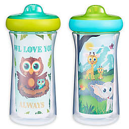The First Years™ Owl Safari 2-Pack 9 oz. Insulated Sippy Cups