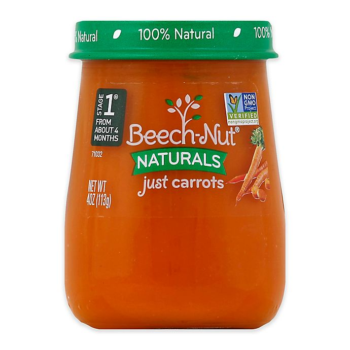 Alternate image 1 for Beech-Nut® Naturals Stage1 Carrots 4 oz. Baby Food Puree