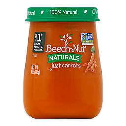Beech-Nut® Naturals Stage1 Carrots 4 oz. Baby Food Puree