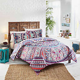Beach Babe Twin XL Comforter Set in Rosewater