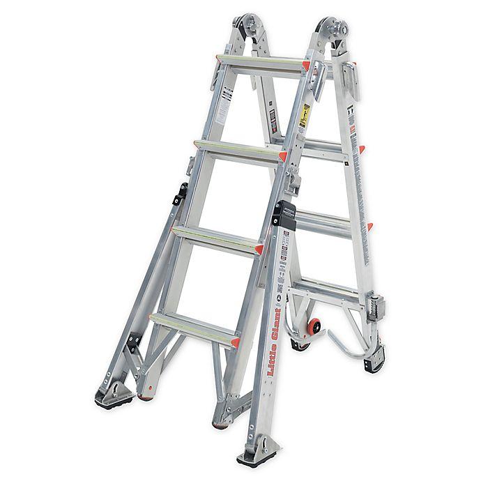 Alternate image 1 for Little Giant 17-Foot Overhaul™ Type IAA Aluminum Ladder