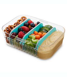 Contenedor de alimentos de tritán PackIt® Mod Lunch rectangular color menta