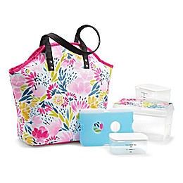 Fit & Fresh® Davenport 5-Piece Lunch Bag Set in Pink