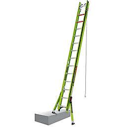 Little Giant® HyperLite SumoStance Type IAA Fibgerglass Extension Ladder in Green