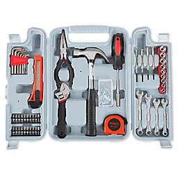 Stalwart 132-Piece Tool Kit in Grey