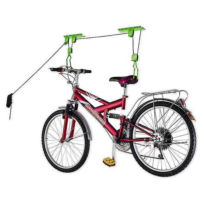 Alternate image 1 for Bike Lane 2-Pack Bike Lift Hoist Caps in Black