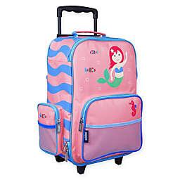 Wildkin Mermaids Upright Luggage in Purple