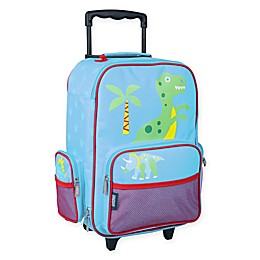Wildkin Dinosaur Land Upright Luggage in Yellow