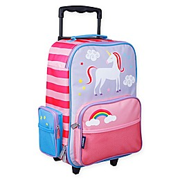 Wildkin Unicorn 16-Inch Upright Carry On Luggage in Purple/Pink