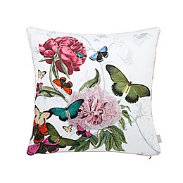 Ted Baker London® Palace Gardens Square Throw PIllow in White