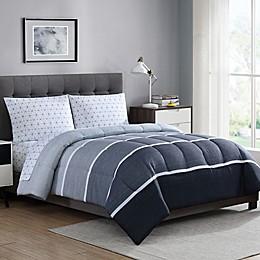 Newport 5-Piece Reversible Comforter Set