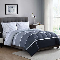 Newport 5-Piece Reversible Comforter Set