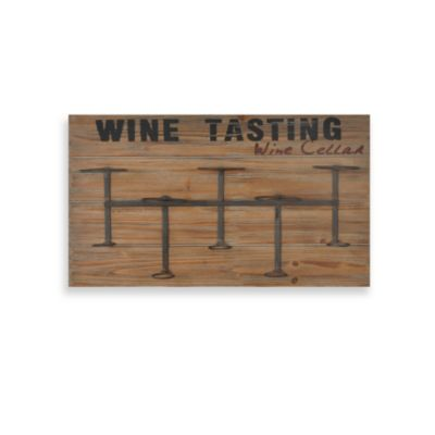 Wine Rack Plaque Bed Bath Amp Beyond