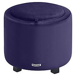 Polyester Upholstered Pantone Stool