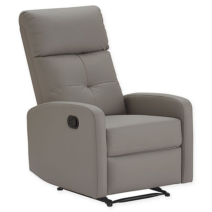 Prime Henderson Bonded Leather Recliner Chair Bed Bath Beyond Bralicious Painted Fabric Chair Ideas Braliciousco