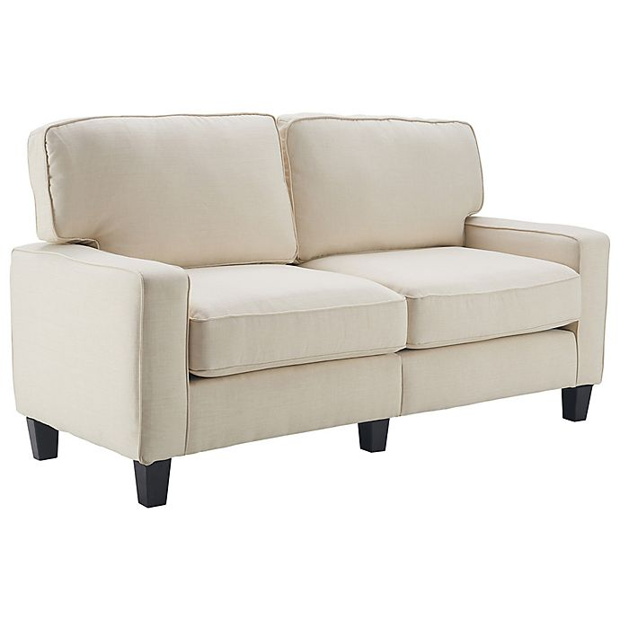 Alternate image 1 for Serta® Palisades Loveseat in Butter Cream