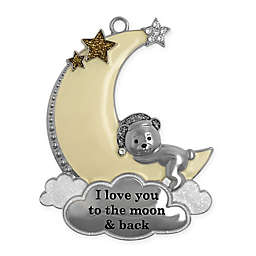 Crystals from Swarovski® Harvey Lewis™ Moon & Back Christmas Ornament