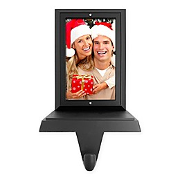 Crystals from Swarovski® Harvey Lewis™ Picture Frame Stocking Hanger