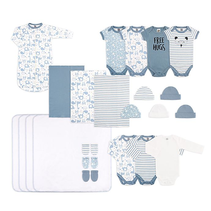 Alternate image 1 for The Peanut Shell® Size 0-3M 23-Piece Layette Set