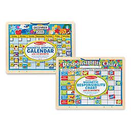 Melissa & Doug® 2-Pack Magnetic Calendar Responsibility Charts