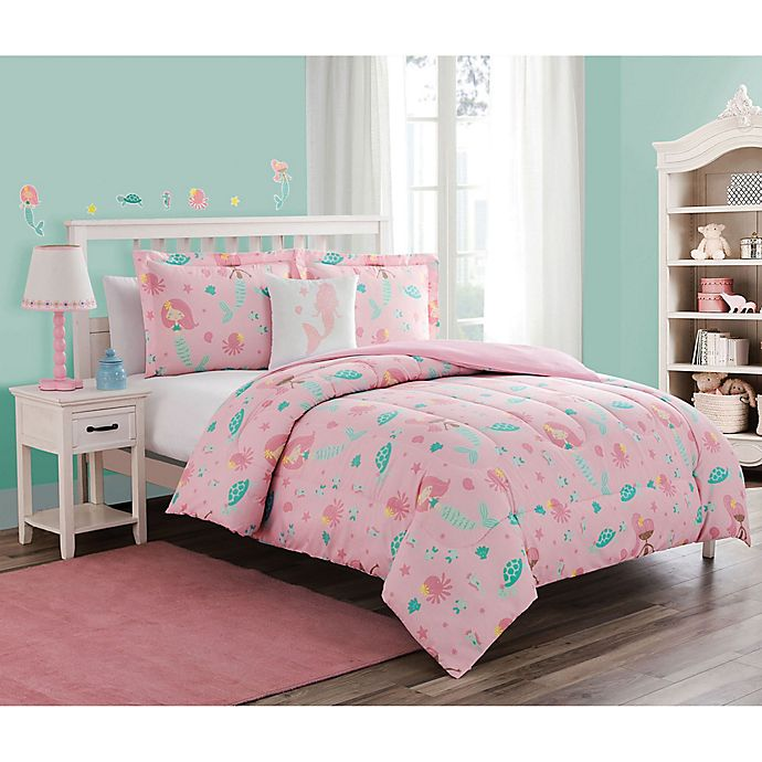 Alternate image 1 for Sea Princess Bedding Set in Pink