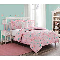 Sea Princess Bedding Set in Pink