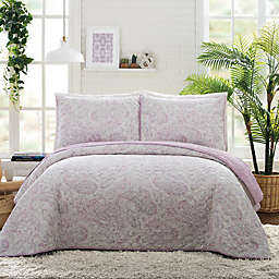 Jessica Simpson Paisley Cloud Quilt Set