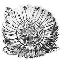 Wilton Armetale® Sunflower 18.5-Inch Round Tray