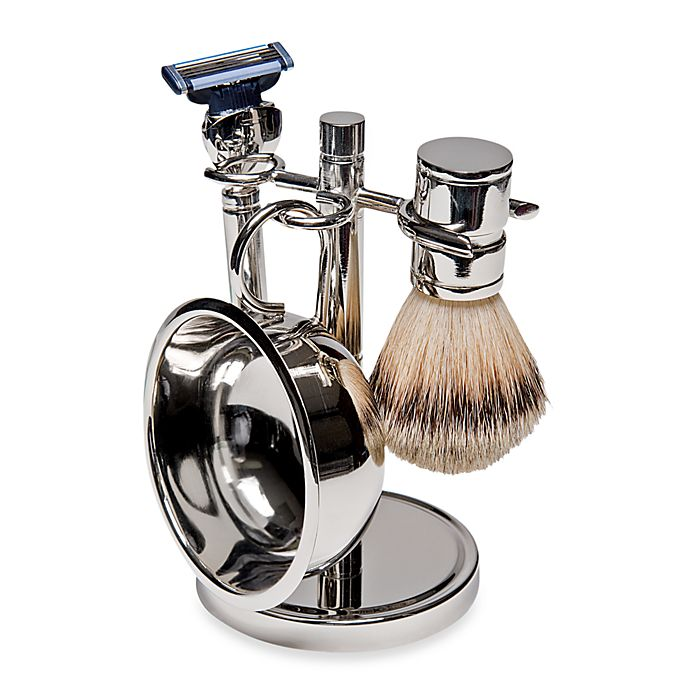 Alternate image 1 for Kingsley for Men 4-Piece Shave Set