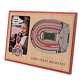 NCAA Ohio State Buckeyes StadiumView Picture Frame