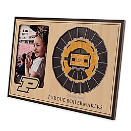 NCAA Purdue Basketball StadiumView Picture Frame