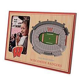 NCAA Wisconsin Badgers StadiumView Picture Frame