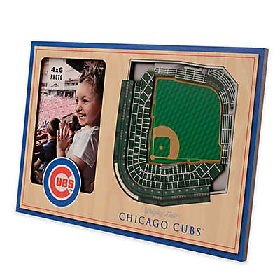 MLB Chicago Cubs 5-Layer StadiumViews 3D Wall Picture Frame