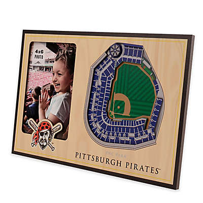 MLB Pittsburgh Pirates 5-Layer StadiumViews 3D Wall Picture Frame
