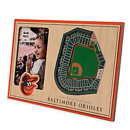 MLB Baltimore Orioles 5-Layer StadiumViews 3D Wall Picture Frame