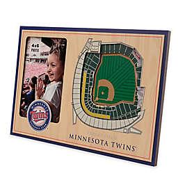 MLB Minnesota Twins 5-Layer StadiumViews 3D Wall Picture Frame