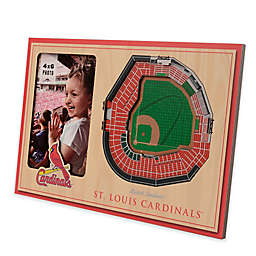 MLB St. Louis Cardinals 5-Layer StadiumViews 3D Wall Picture Frame