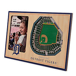 MLB Detroit Tigers 5-Layer StadiumViews 3D Wall Picture Frame