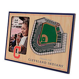 MLB Cleveland Indians 5-Layer StadiumViews 3D Wall Picture Frame